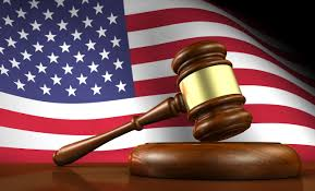 US Flag and Justice