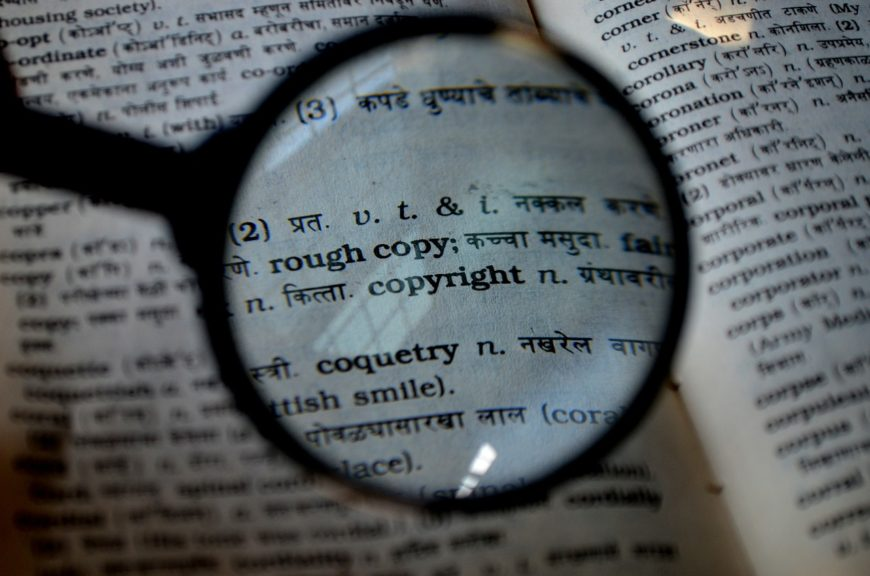 Definition of a copyright